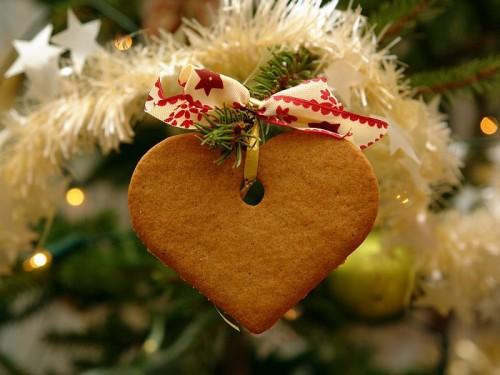decorazioni di natale fai da te con i biscotti