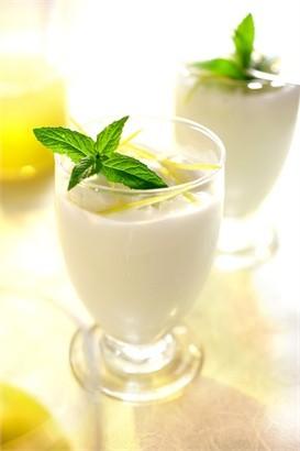 frozen di yogurt e limone
